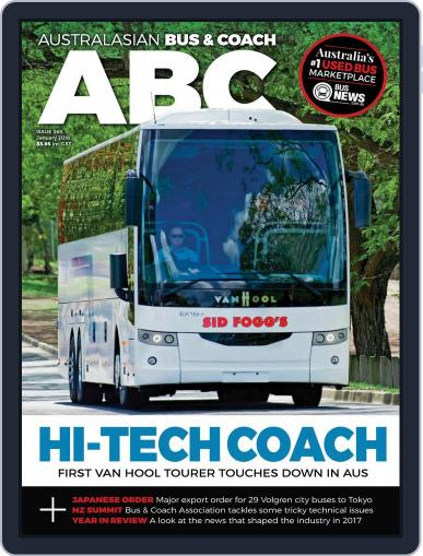 Australasian Bus & Coach January 1st, 2018 Digital Back Issue Cover