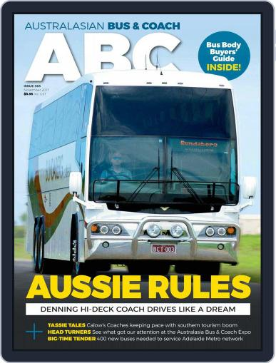 Australasian Bus & Coach (Digital) November 1st, 2017 Issue Cover