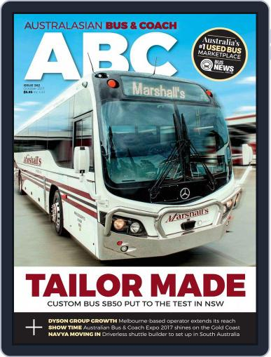 Australasian Bus & Coach (Digital) October 1st, 2017 Issue Cover