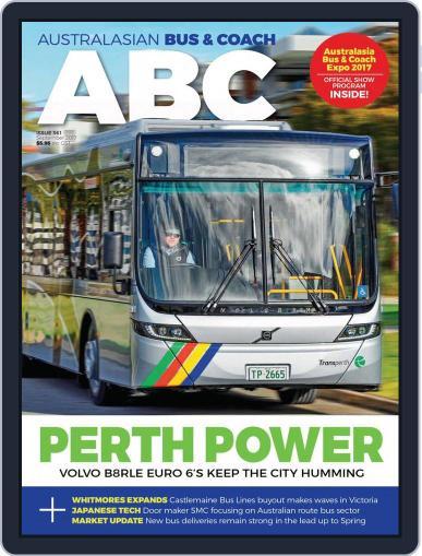 Australasian Bus & Coach September 1st, 2017 Digital Back Issue Cover