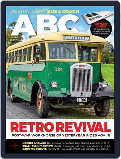 Australasian Bus & Coach (Digital) August 1st, 2017 Issue Cover