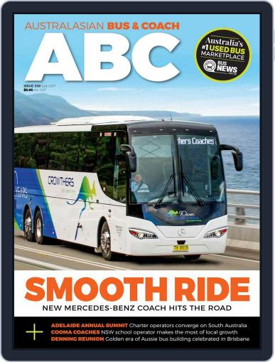 Australasian Bus & Coach (Digital) July 1st, 2017 Issue Cover