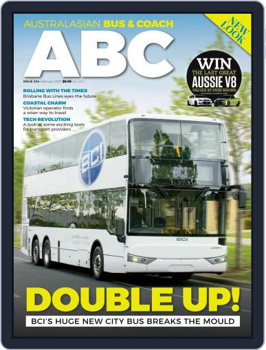 Australasian Bus & Coach February 1st, 2017 Digital Back Issue Cover