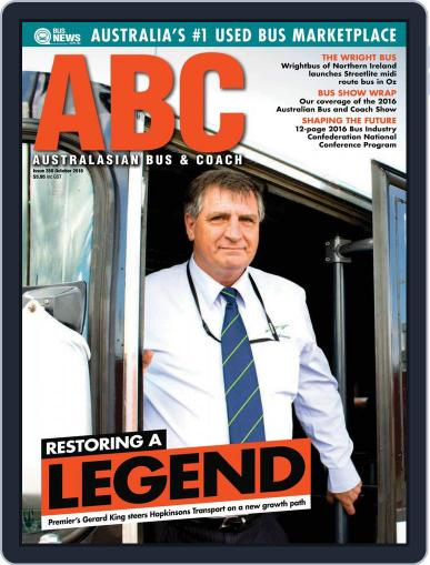 Australasian Bus & Coach (Digital) October 1st, 2016 Issue Cover