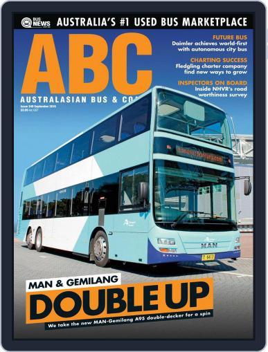 Australasian Bus & Coach (Digital) September 1st, 2016 Issue Cover