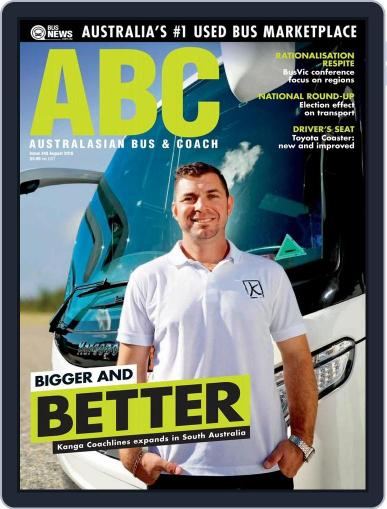 Australasian Bus & Coach (Digital) July 31st, 2016 Issue Cover