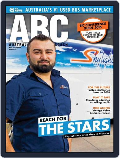 Australasian Bus & Coach July 22nd, 2016 Digital Back Issue Cover