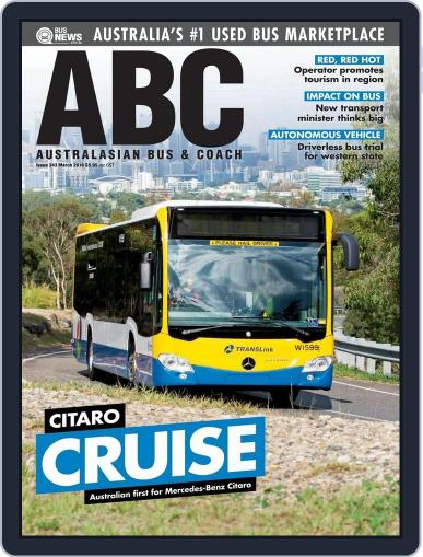 Australasian Bus & Coach (Digital) March 14th, 2016 Issue Cover