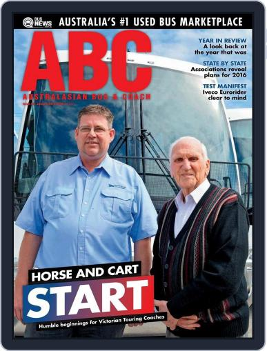 Australasian Bus & Coach (Digital) January 18th, 2016 Issue Cover