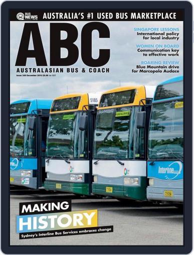 Australasian Bus & Coach (Digital) December 14th, 2015 Issue Cover