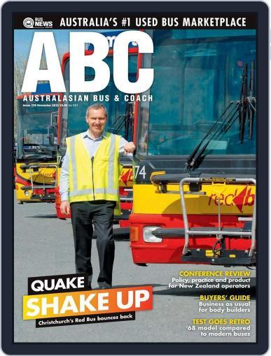 Australasian Bus & Coach (Digital) November 16th, 2015 Issue Cover