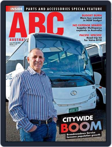Australasian Bus & Coach (Digital) July 22nd, 2015 Issue Cover