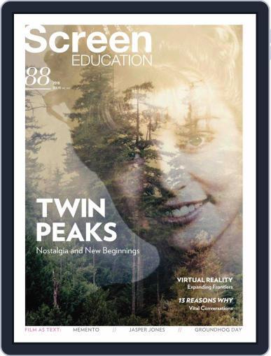 Screen Education (Digital) November 1st, 2017 Issue Cover