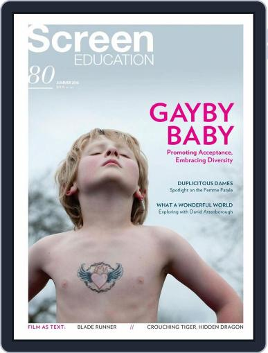 Screen Education November 30th, 2015 Digital Back Issue Cover