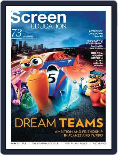 Screen Education (Digital) March 31st, 2014 Issue Cover