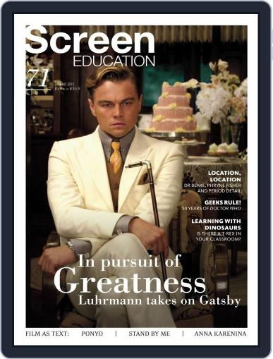 Screen Education November 19th, 2013 Digital Back Issue Cover