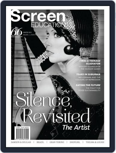 Screen Education August 1st, 2012 Digital Back Issue Cover