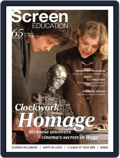Screen Education April 23rd, 2012 Digital Back Issue Cover