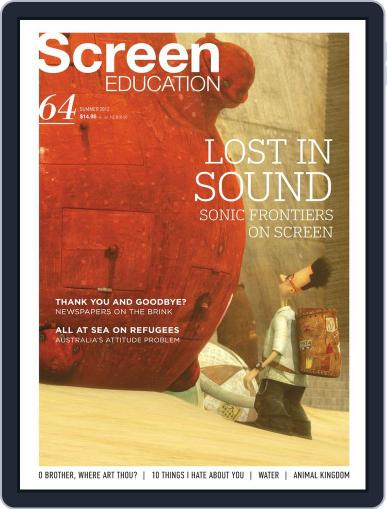Screen Education December 14th, 2011 Digital Back Issue Cover