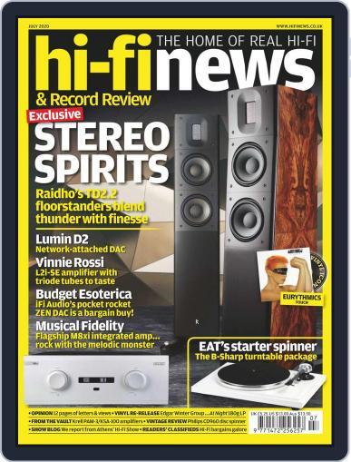 Hi Fi News (Digital) July 1st, 2020 Issue Cover