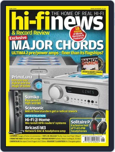 Hi Fi News June 1st, 2020 Digital Back Issue Cover