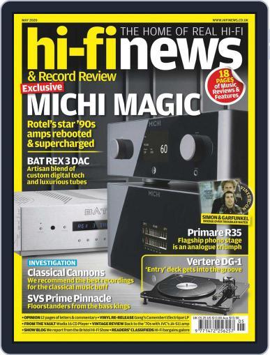 Hi Fi News May 1st, 2020 Digital Back Issue Cover