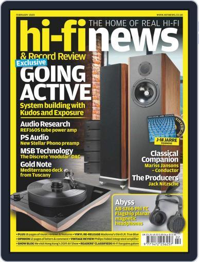 Hi Fi News (Digital) February 1st, 2020 Issue Cover
