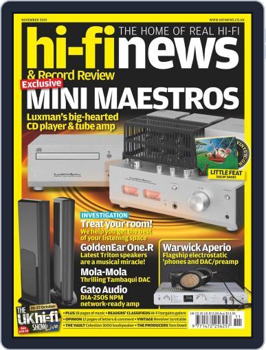 Hi Fi News (Digital) November 1st, 2019 Issue Cover