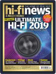 Hi Fi News (Digital) Subscription October 18th, 2019 Issue