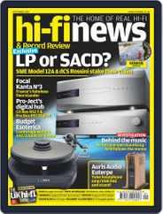 Hi Fi News (Digital) Subscription September 1st, 2019 Issue