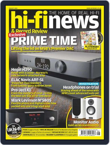 Hi Fi News (Digital) August 1st, 2019 Issue Cover