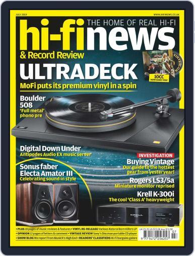 Hi Fi News (Digital) July 1st, 2019 Issue Cover