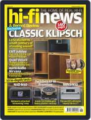 Hi Fi News (Digital) Subscription June 1st, 2019 Issue