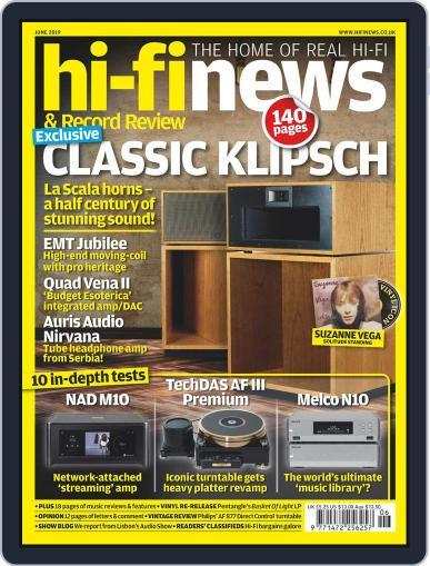 Hi Fi News (Digital) June 1st, 2019 Issue Cover