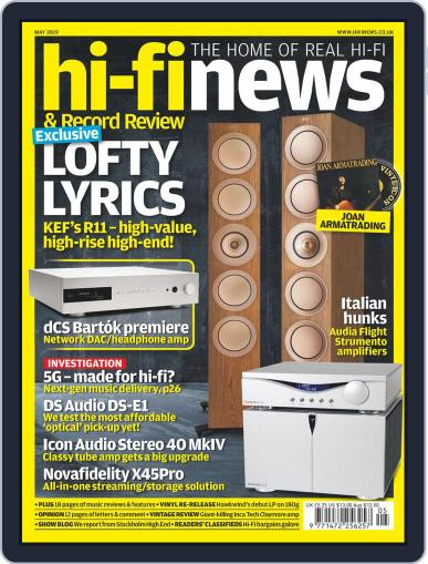 Hi Fi News (Digital) May 1st, 2019 Issue Cover