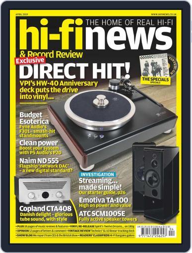 Hi Fi News (Digital) April 1st, 2019 Issue Cover