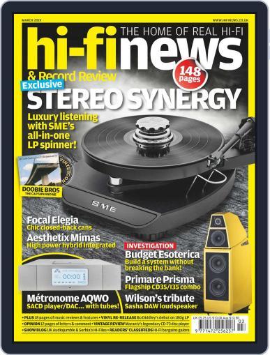 Hi Fi News (Digital) March 1st, 2019 Issue Cover