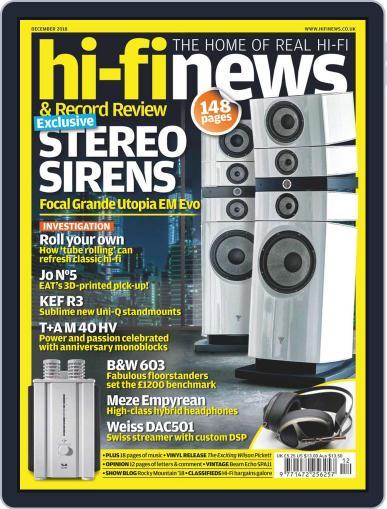 Hi Fi News (Digital) December 1st, 2018 Issue Cover