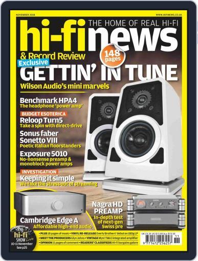 Hi Fi News (Digital) November 1st, 2018 Issue Cover