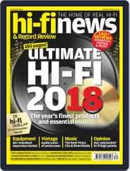 Hi Fi News (Digital) Subscription October 19th, 2018 Issue
