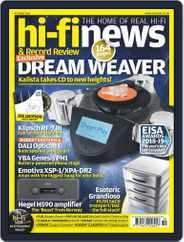 Hi Fi News (Digital) Subscription October 1st, 2018 Issue