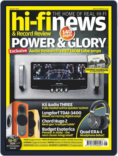 Hi Fi News (Digital) August 1st, 2018 Issue Cover