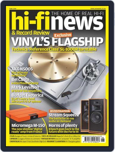 Hi Fi News June 1st, 2018 Digital Back Issue Cover