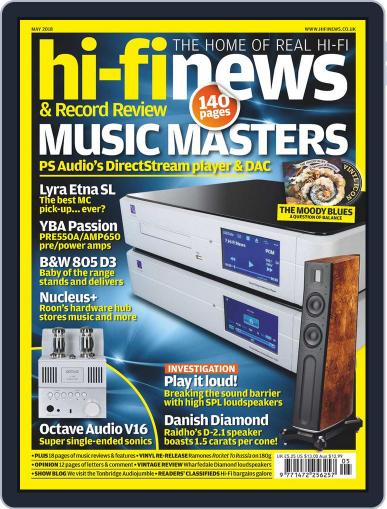 Hi Fi News (Digital) May 1st, 2018 Issue Cover