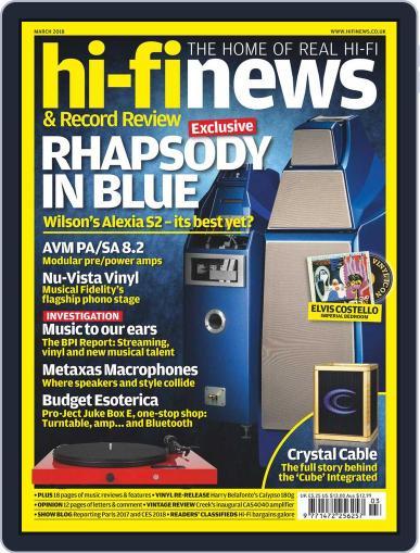 Hi Fi News (Digital) March 1st, 2018 Issue Cover