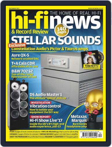 Hi Fi News December 1st, 2017 Digital Back Issue Cover