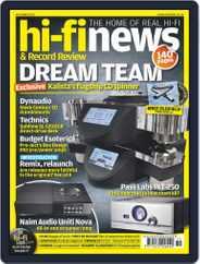 Hi Fi News (Digital) Subscription November 1st, 2017 Issue