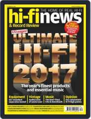Hi Fi News (Digital) Subscription October 20th, 2017 Issue