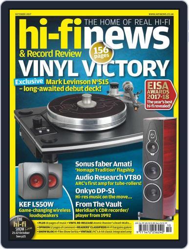 Hi Fi News October 1st, 2017 Digital Back Issue Cover