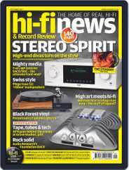 Hi Fi News (Digital) Subscription September 1st, 2017 Issue
